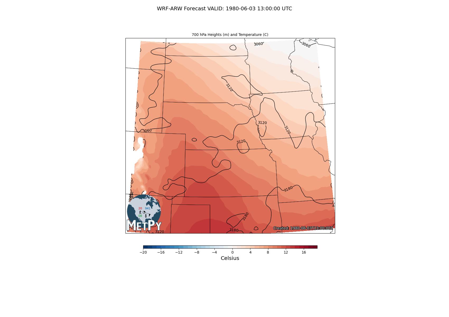 Sigma to Pressure Interpolation — MetPy 0 10
